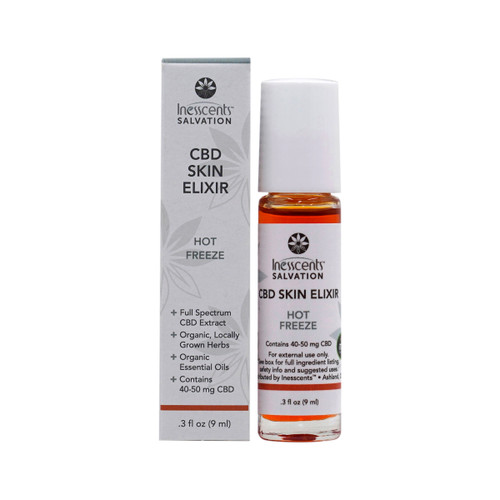 CBD Salvation - Hot Freeze Skin Elixir 9ml Roll-On