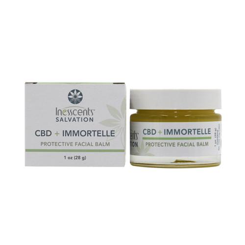 CBD + Immortelle Protective Facial Balm 1oz.