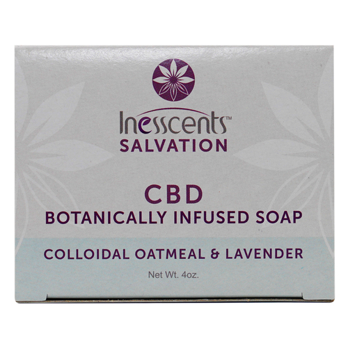 CBD Botanically Infused Soap - Colloidal Oatmeal & Lavender