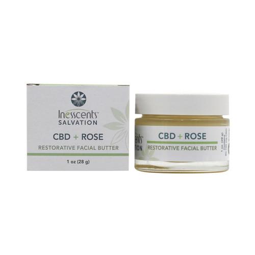 CBD + Rose Restorative Facial Butter 1oz.