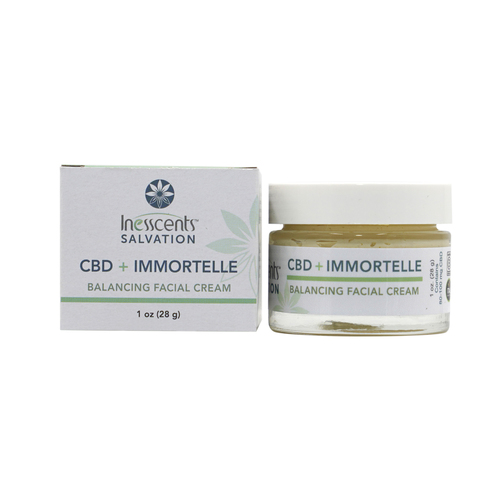 CBD + Immortelle Balancing Facial Cream 1oz.