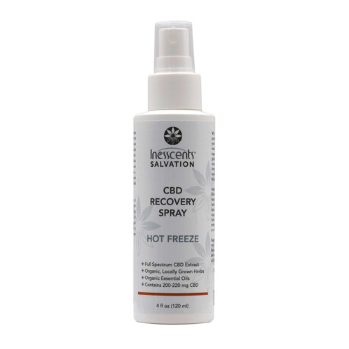 CBD Hot Freeze Recovery Spray - 4oz