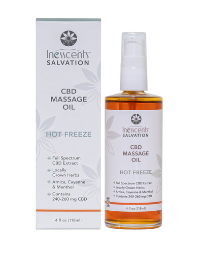 CBD Massage Oil - Hot Freeze