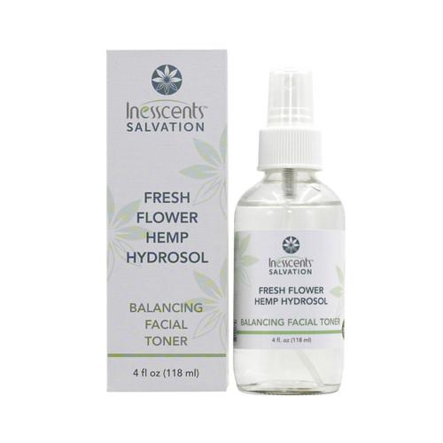 Fresh Flower Hemp Hydrosol Balancing Facial Toner 4oz.