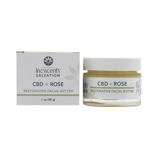 CBD + Rose Restorative Facial Butter 1oz.