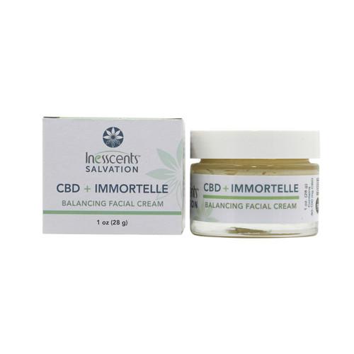CBD + Immortelle Balancing Facial Cream 1oz.