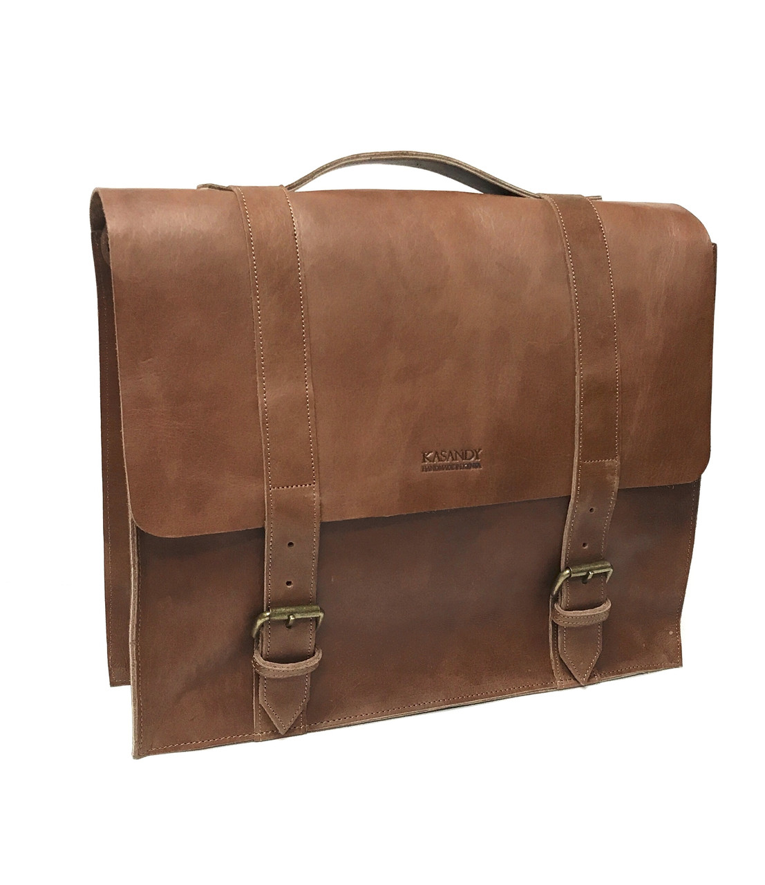 ac23ef59b86a Leather Messenger Bag Briefcase Laptop Bag