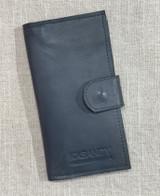 Womens Wallet | Genuine Leather - Teal Grey | Handmade in Kenya