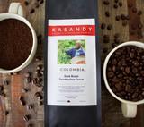 Coffee   Colombia   Dark Roast   Ground   Level Ground