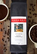 Coffee   Ethiopia   Dark Roast   Ground   Level Ground