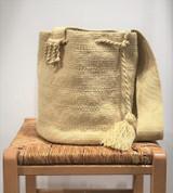 Mochila Wayuu Bag | Beige | Handmade in Colombia
