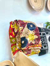 "Quilt Kantha - Queen 72"" x 88"" 