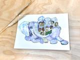 Cards: Paseka Elephant
