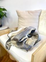 Alpaca Blanket | Gamma - Cafe | Handmade in Ecuador