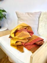 Alpaca Blanket | Gold Gamma | Handmade in Ecuador