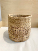 Kiondo Basket - Natural Brown with Banana Stem Design | 8"