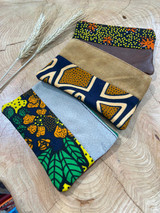 "Coin Purse | Forest Pattern | Leather | 3""x 5"" 