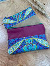 "Coin Purse | Dragonfly | Leather | 3""x 5"" 