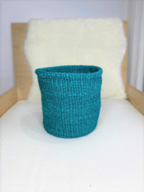 Kiondo Basket - Emerald Green | Planter, Storage, Decor