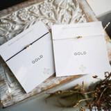 3 Wish Bracelet ~ Silver   White   Handmade in Victoria