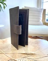 Womens Wallet | Genuine Leather - Dark Brown | Handmade in Kenya