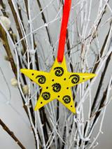 Star   SoapStone Ornaments   Handmade in Kenya