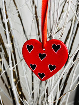 Heart | SoapStone Ornaments | Handmade in Kenya