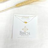 Gemstone Necklace, Citrine ~ Silver | Handmade in Victoria