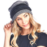 Alpaca Beanie Colorado | Charcoal | Handmade in Peru