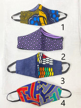 Designer Cloth Masks - Kids | Colourful Designs | Handmade in Kenya