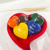 Soap Stone Hearts | You Are Enough - Small | Handmade in Kenya
