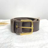 Belt Classic | Dark Brown | Genuine Leather | Handmade in Kenya