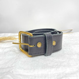 Belt Classic | Black | Genuine Leather | Handmade in Kenya