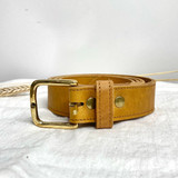 Belt Classic | Tan Brown | Genuine Leather | Handmade in Kenya