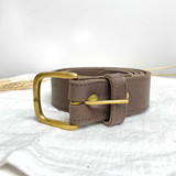 Belt Classic | Brown | Genuine Leather | Handmade in Kenya
