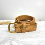 Belt Classic | Tan Brown Texture | Genuine Leather | Handmade in Kenya
