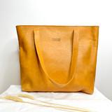 Genuine Leather Tote Bag | Tan Brown | Handmade in Kenya
