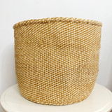 Kiondo Basket - Natural & White Pattern | 12"