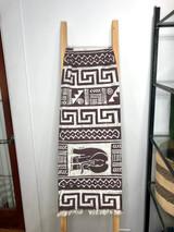 "Table Runner/Hanger | 58"" | Taupe Elephants | Handmade in Zimbabwe"