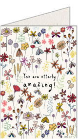 Utterly Amazing | Recycled Paper Plantable Greeting Card | Handmade in South Africa