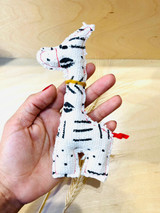 Mud Cloth | Stuffed | Souvenir Giraffe | Handmade in Vancouver