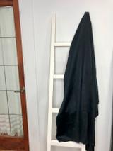 Alpaca Blanket | Dark Blue | Handmade in Ecuador