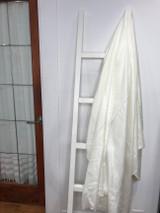 Alpaca Blanket | Winter White | Handmade in Ecuador
