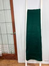 Alpaca Blanket | Green | Handmade in Ecuador