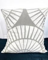 Pillows | 30 x 30 | Grey Shell Pattern | Handmade in Zimbabwe