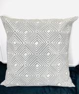 Pillows | 30 x 30 | Grey Geometric Design | Handmade in Zimbabwe