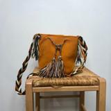 Mochila Wayuu Bag | Medium | Mustard Yellow | Handmade in Columbia