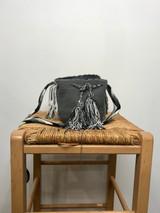 Mochila Wayuu Bag | Mini | Grey | Handmade in Columbia