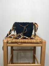Mochila Wayuu Bag | Mini | Navy Blue | Handmade in Columbia