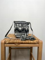 Mochila Wayuu Bag | Mini | Grey Paths | Handmade in Columbia